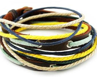 axy wrap bracelet TWIC11-1!  Leather Bracelet