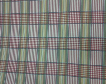 Pleasant Plaid - Waverly Fabric - Multicolor - Sold by the Yard - Morningstars