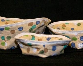 Set of 3 microwave safe bowl pot holders