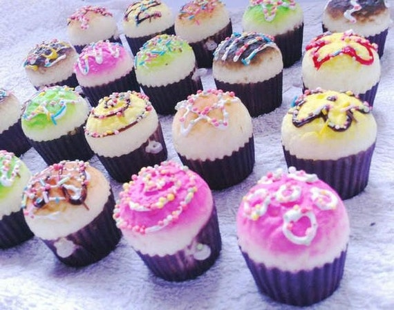 Items similar to 3 x Squishy Muffin cupcake charms phone kawaii kitsch wholesale supplies on Etsy