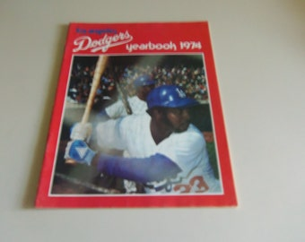 1974 LA Dodgers Yearbook