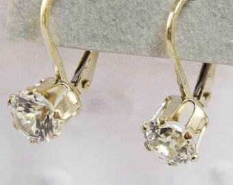 Sterling Silver 6mm Yags Earrings
