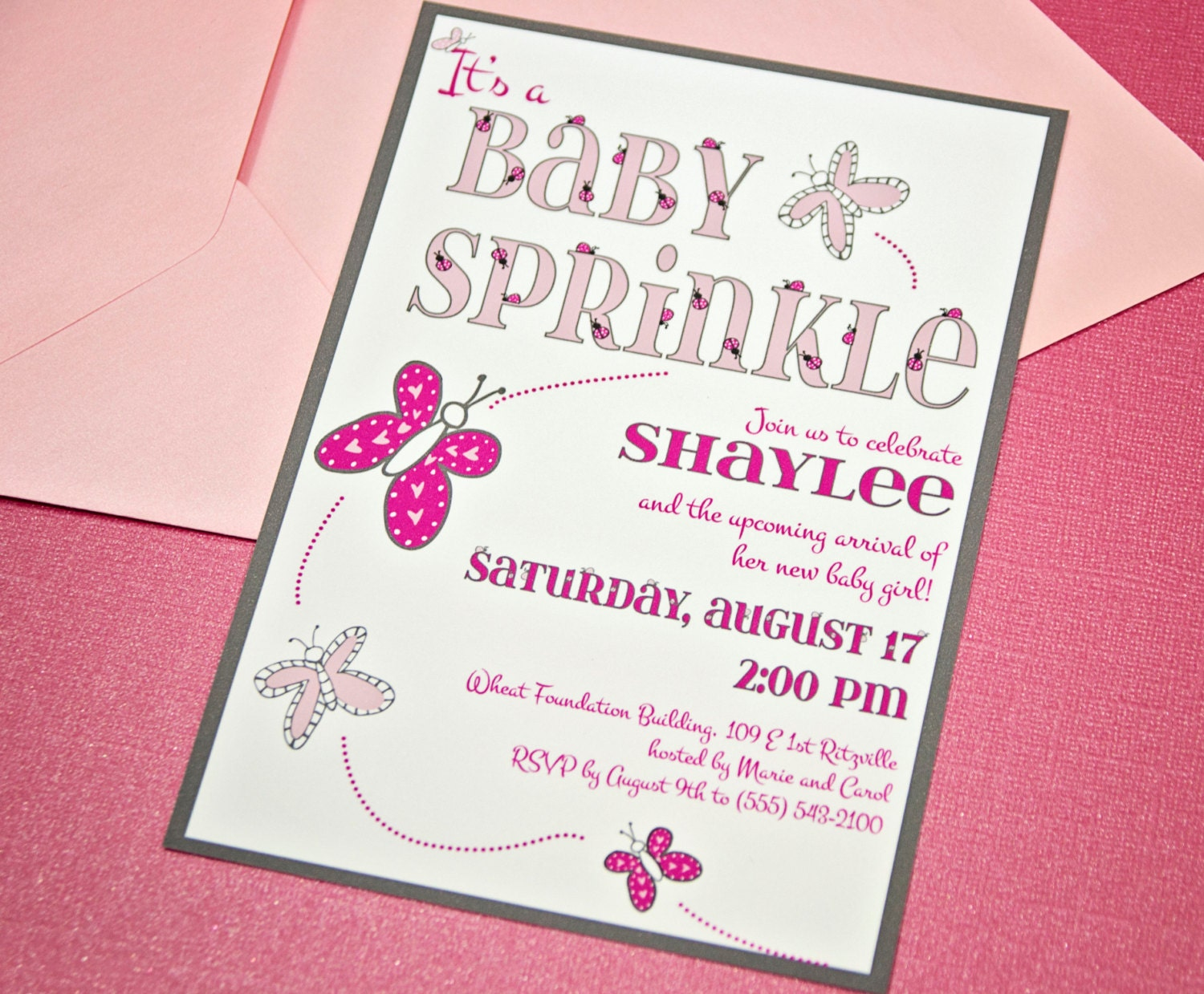 baby shower invitations event paper goods by cakeinvitations