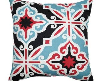 Premier Prints Harford Carmine Modern Trellis Lattice Print Home Decor Decorative Throw Pillow Cover