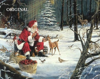 After Christmas With Santa... ~Counted~ Cross Stitch Pattern ~Computer Generated~ BBXS