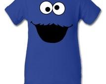 Cookie Monster inspired Character Onesie Infant Baby Newborn Onesie Creeper Crawler One Piece Bodysuit 100% combed ringspun cotton