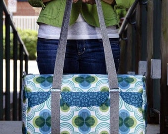 Road Tripper Duffle Bag PDF Sewing Pattern (June Sale!)