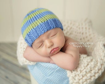 Andrew - Perfect Fit Newborn Beanie