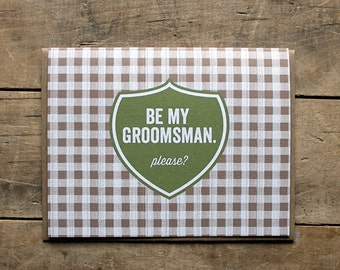 Be My Groomsman.  Please?