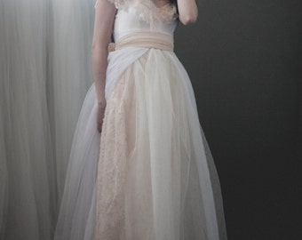 Paper Moon Wedding Dress Custom Made to Order