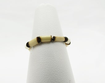 Bamboo Stretch Stacking Ring - Christian Ring - The King's Cross Collection