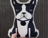Boston Terrier pillow plush doll