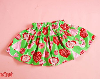 SALE Skirt Girls Size 4T 4 Ready to Ship Christmas Ornaments