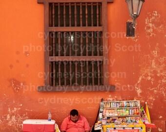 Cartegena Photo,Fine Art Photography,Color Prints,Documentary print, Documentary photo, Gallery Prints, Cartegena Kiosk Print, Colombia