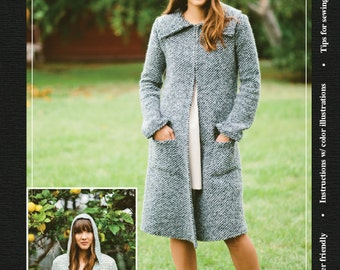 Lark Sewing Pattern - A maxi cardi sewing pattern