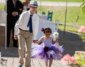 Purple Tutu, Girls Birthday Tutu, Vibrant Violet, Plum Purple Lavender Custom Sewn Pixie Tutu, Flower Girl Tutu, Photo Prop, Tulle Skirt
