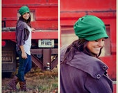 Slouch Hat - DEEP MINT - Merino