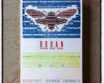 RODAN test print / 1 of a kind