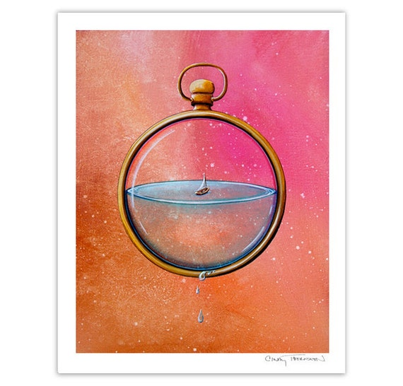 Seafarer Series Limited Edition - Time and Space - Signed 8x10 Matte Print (#7/10)