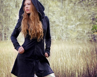 Black hoodie XS-S last one