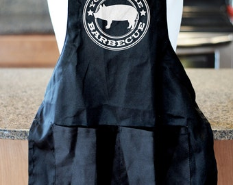 Personalized Barbecue Apron customized with any name, great gift for dad, father's day bbq apron