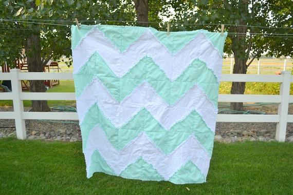 free chevron rag qulit pattern