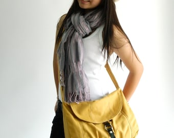 Sale Sale Sale 30%  - Claire in Mustard Yellow Messenger bag,Diaper bag,Tote,Purse,Handbag,Cross body,Women,For her,School bag
