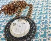 UPcycleD Pendant Necklace RePurposed Vintage Jewelry