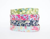 Flower Dog Collar - Liberty of London Collection I