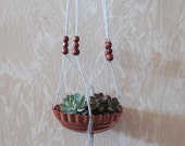 Hanging Plant Swing with Copper Planter
