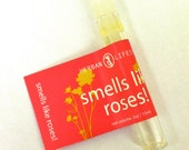 Smells Like Roses! perfume sample made with pure essential oils and absolutes