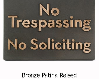 "Neutraface Custom Phrase Plaque  12.5""W  x 8.75""H by Atlas Signs"