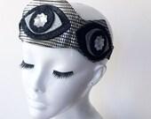 TRIPLE THIRD EYE Goddess Crown Headband