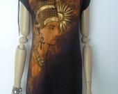Nefertiti Sundance black dress size medium stretch cotton versatile