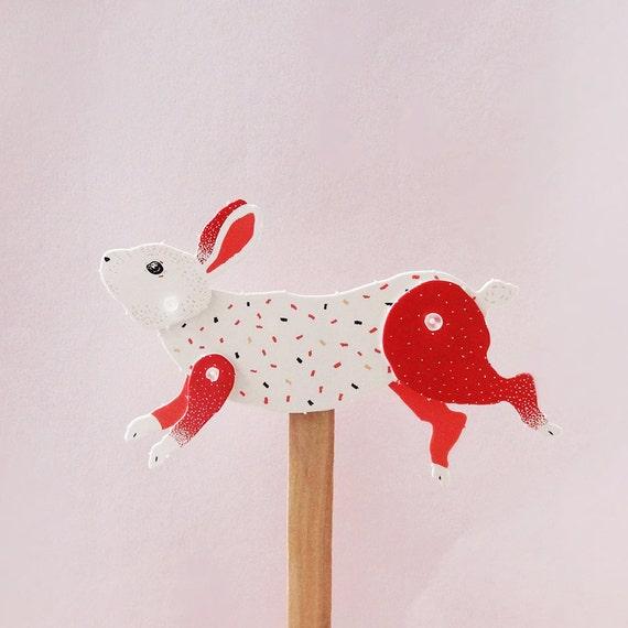 DIY Paper Puppet - Rabbit