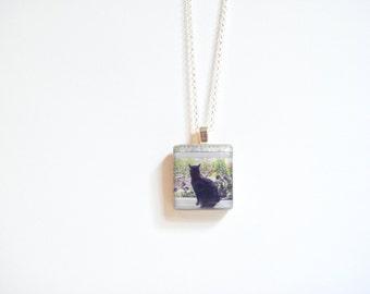 Gift for Pet Loss - Cat Memorial - Sympathy Gift - In Memory of Cat - Cat Memorial Necklace - Pet Memorial Necklace - Loss of Pet Necklace