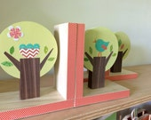 Tree Bookends, Kids Decor, Nursery Decor, eco friendly