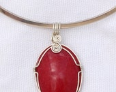 Wire Wrapped Red Mountain...