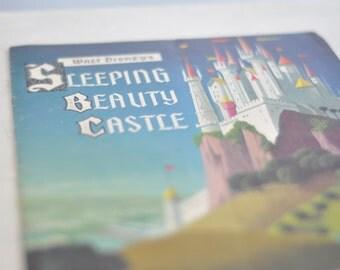 1957 Walt Disney's Sleeping Beauty Castle Storybook Disney Collector Item Disneyland