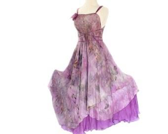 Natural Dyeing on Silk, silk craft, Eco leaf flower natural dyeing, Contact dyeing, Eco durning Natural Plant Dyed, Eco Friendly Summer Silk