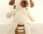 Crochet pattern Dog -  amigurumi puppy animal toy pattern - Instant Download PDF by Bigunki