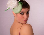 Adorable apple green head piece CLEARANCE REDUCED 40%
