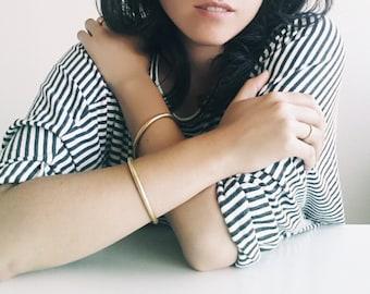 Single Brass Bracelet