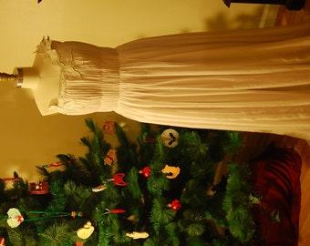 Fleur Yule Ball Dress Gown Replica Costume Silk Commission Harry Potter Silver Gray Grey Chiffon Delacour Prom