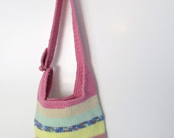 Crocheted Summer Sling Purse Pattern - Allcrafts Blogs