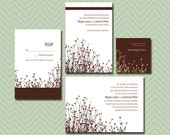 Rolling Prairie - a printable wedding invitation