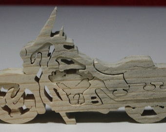 Miniature Motorcycle Puzzle
