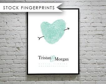 Fingerprint Wedding Guest Book Alternative Unique GuestBook Sign for Wedding Sign Guest Book Ideas Guest Sign In Book Alternative Welcome