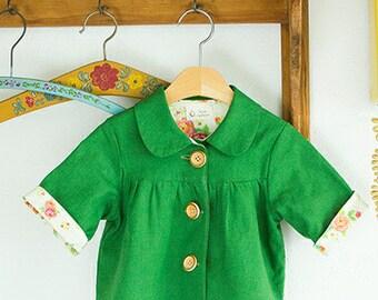 no 297 Arianna Jacket (6 - 24 Months) PDF Pattern with free leggings pattern