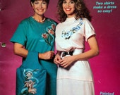 1989 DRESSED UP TEES Pattern Sewing Magazine